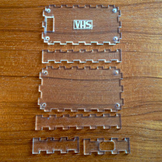 Laser Cut Acrylic Case For Bus Pirate V3 6 Luke Cyca Dot
